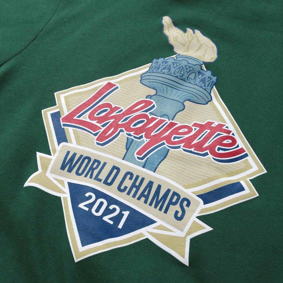 LFYT : WORLD CHAMPS 2021 LF LOGO HOODED SWEATSHIRT