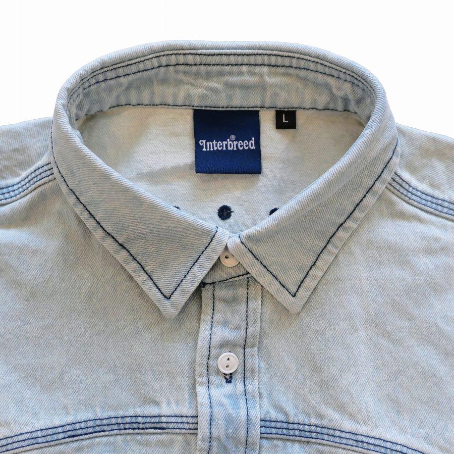 INTERBREED : Washed Indigo Shirt