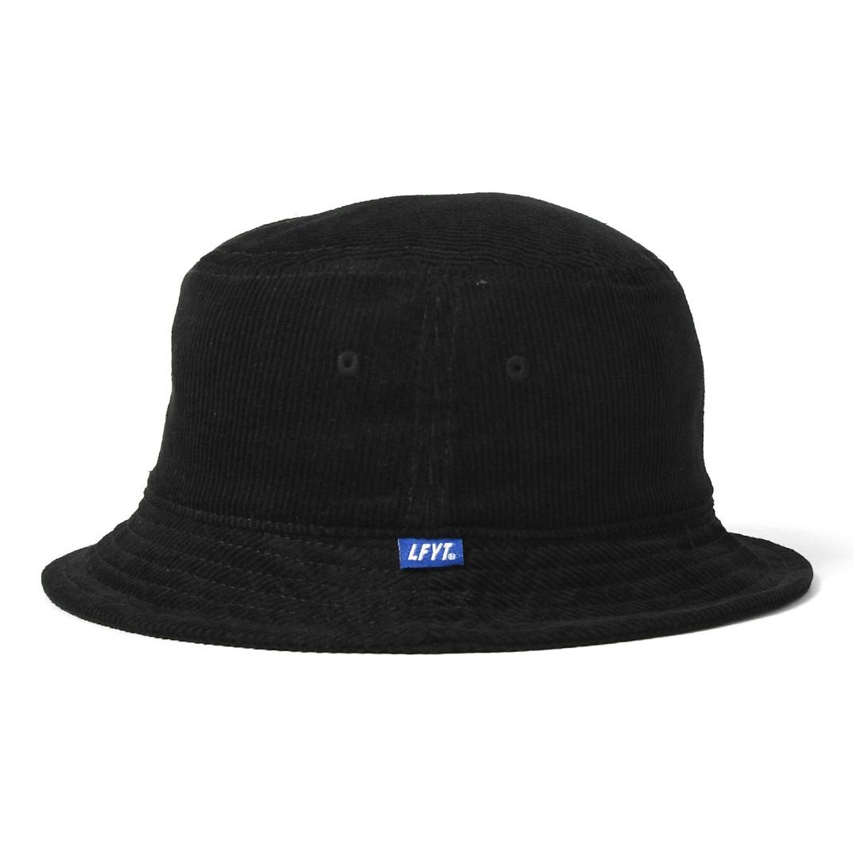 LFYT : L LOGO CORDUROY BUCKET HAT