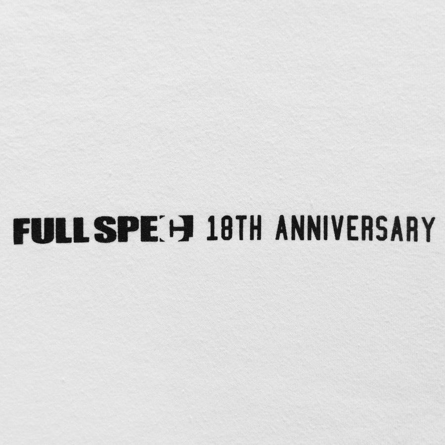 FLSPC. : FULLSPEC. 18TH ANNIV. L/S TEE