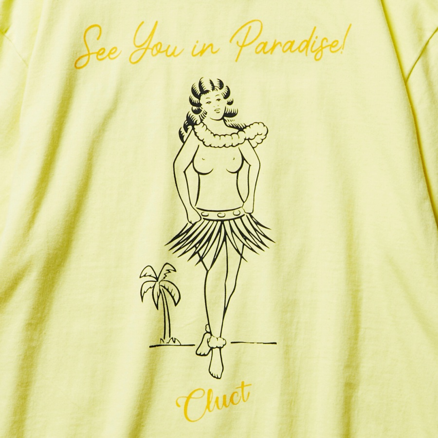 CLUCT : PARADICE  [S/S TEE]