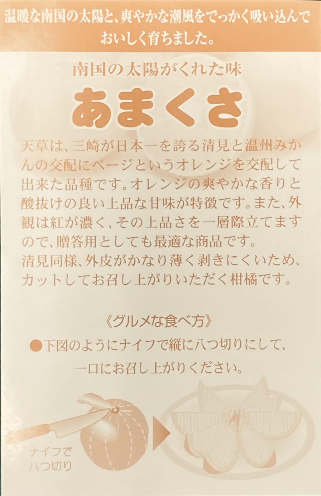 愛媛県産 あまくさ 秀 5kg 送料別