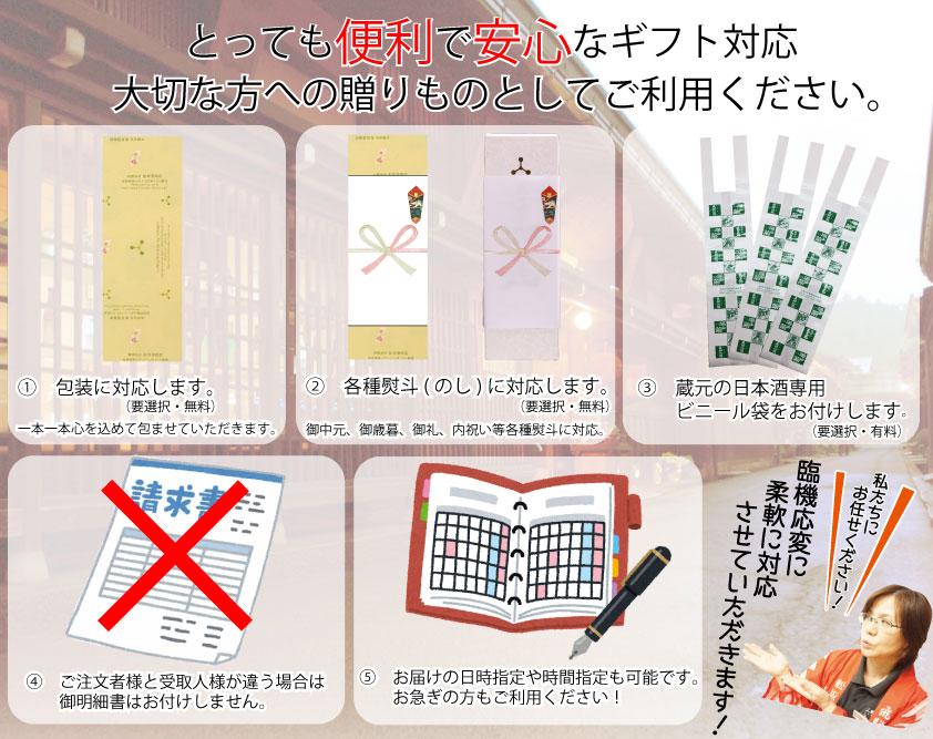 【6本セット】深山菊秘蔵 特別純米 1.8L 15度