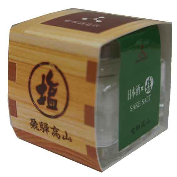 塩 日本酒×塩(25g) 日本酒「深山菊」使用