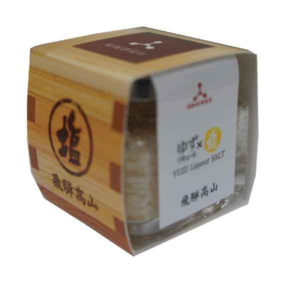 塩 ゆず兵衛×塩(25g) ゆず酒「ゆず兵衛」使用
