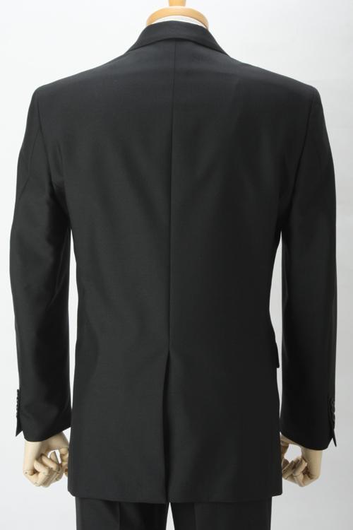 礼服 安い メンズ フォーマルスーツ オールシーズン対応 アジャスター付き ベーシック シングル2つ釦