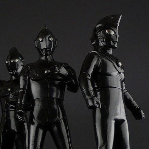 ダイブ×CCPソフビ『ウルトラ5兄弟』ブラックVer