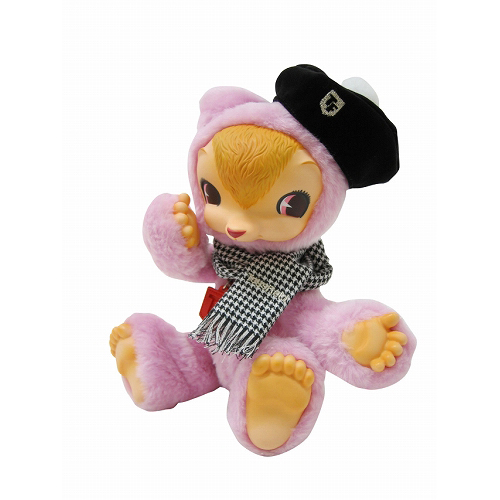 ToysField KUMA 専用衣装(ベレー帽&マフラー)千鳥格子タイプ