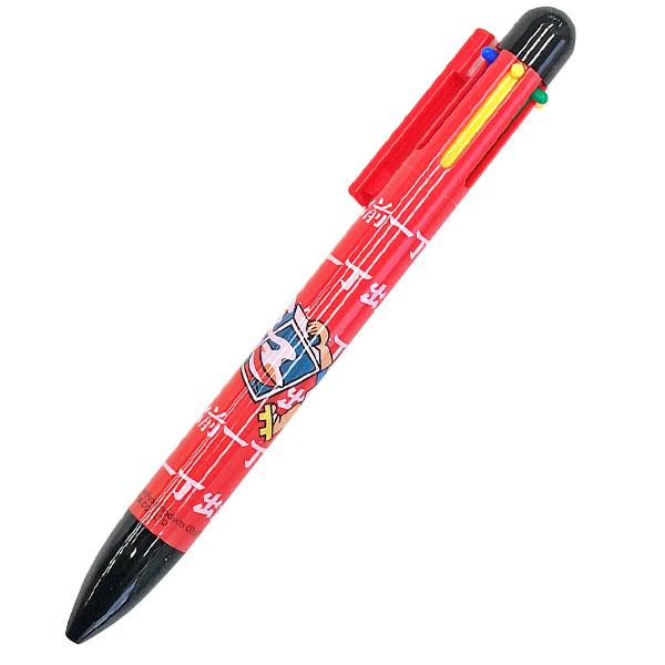 出前一丁 6色ボールペン