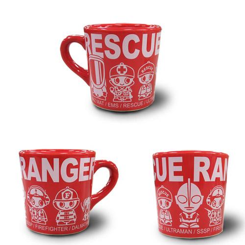 円谷プロ|RS×ウルトラマン RESCUE RANGERマグカップ レッド