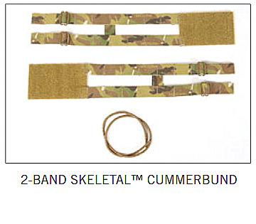 AVS 2-BAND CUMMERBUND BK