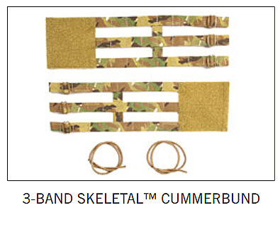 AVS 3-BAND CUMMERBUND BK
