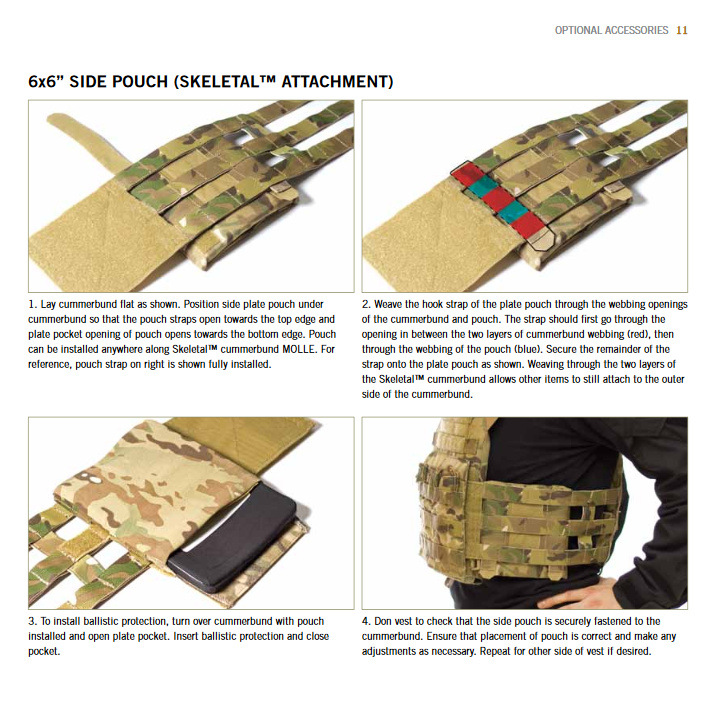 JPC SIDE PLATE POUCH RG