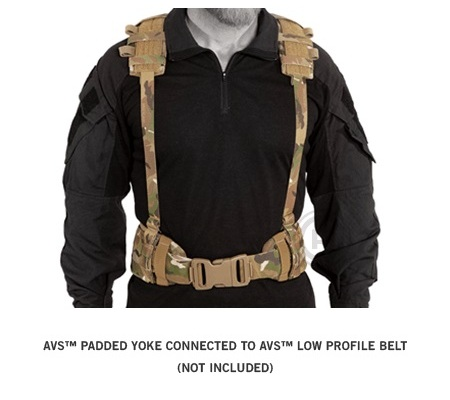 AVS PADDED YOKE MC