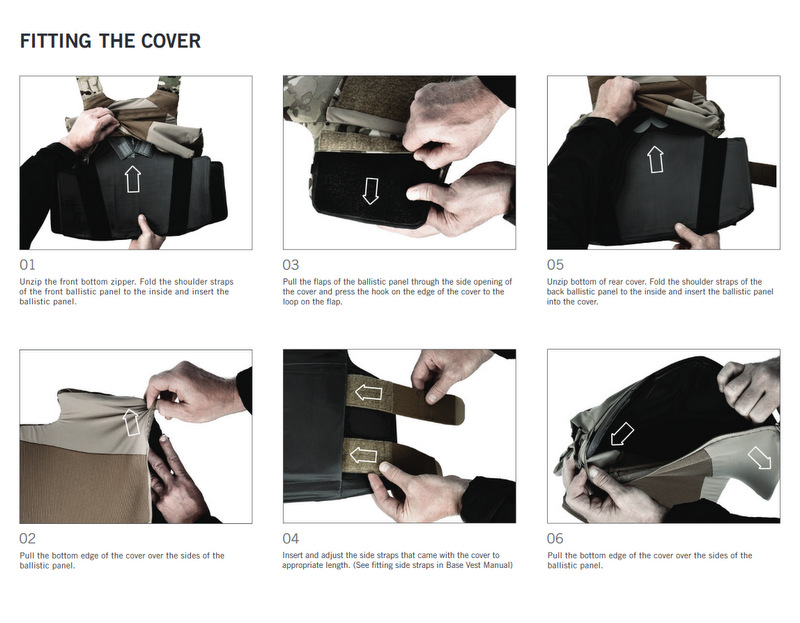 LVS OVERT COVER MAG POUCH BK