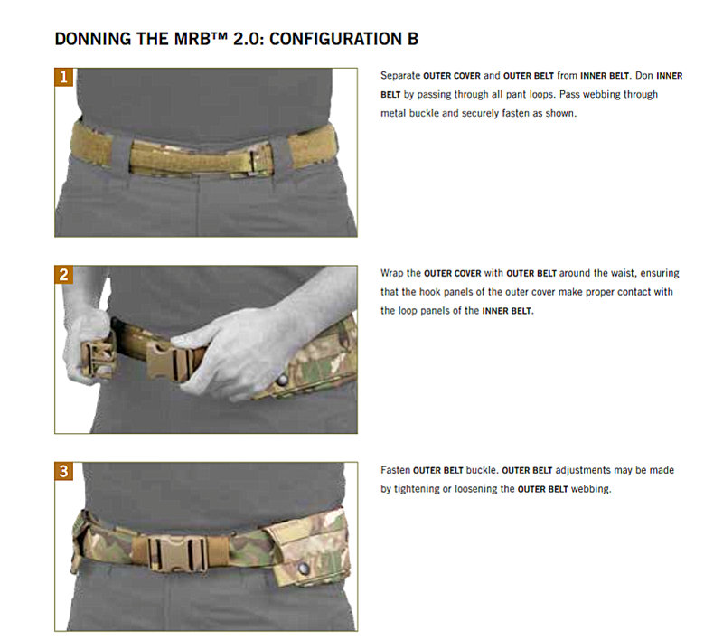 MODULAR RIGGER'S BELT 2.0 CO