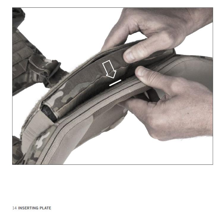 LVS TACTICAL COVER BK