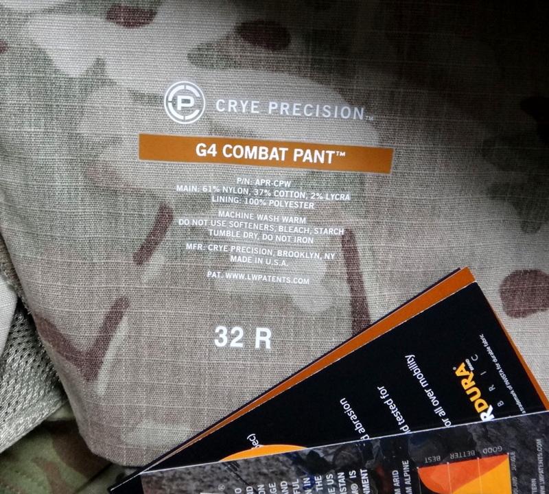 G4 COMBAT PANT MC