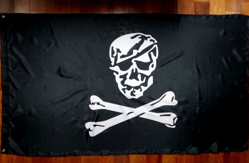 NSWDG BLUE SQUADRON FLAG