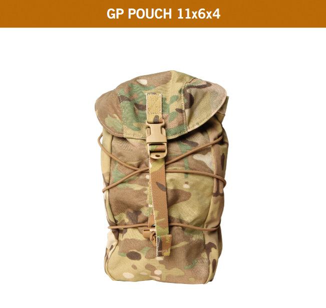 GP POUCH 11X6X4 MC