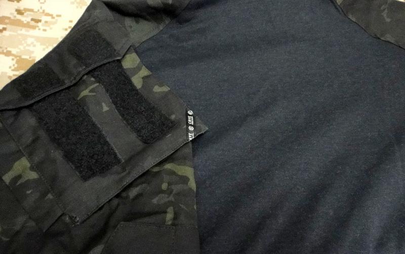 G3 COMBAT SHIRT MC BLACK