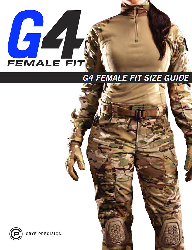 G4 FEMALE FIT COMBAT PANT