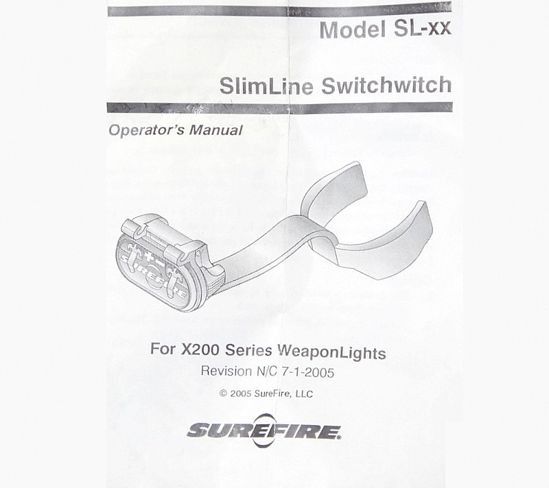 SUREFIRE SL-14 GRIP SWITCH