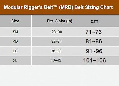 MODULAR RIGGER'S BELT 2.0 BK