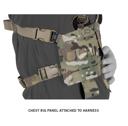 CONVERTIBLE CHEST RIG MC