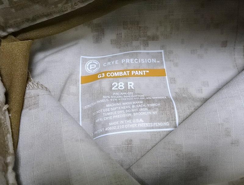 G3 COMBAT PANT AOR1