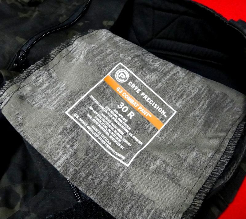 G3 COMBAT PANT MC BLACK / Used