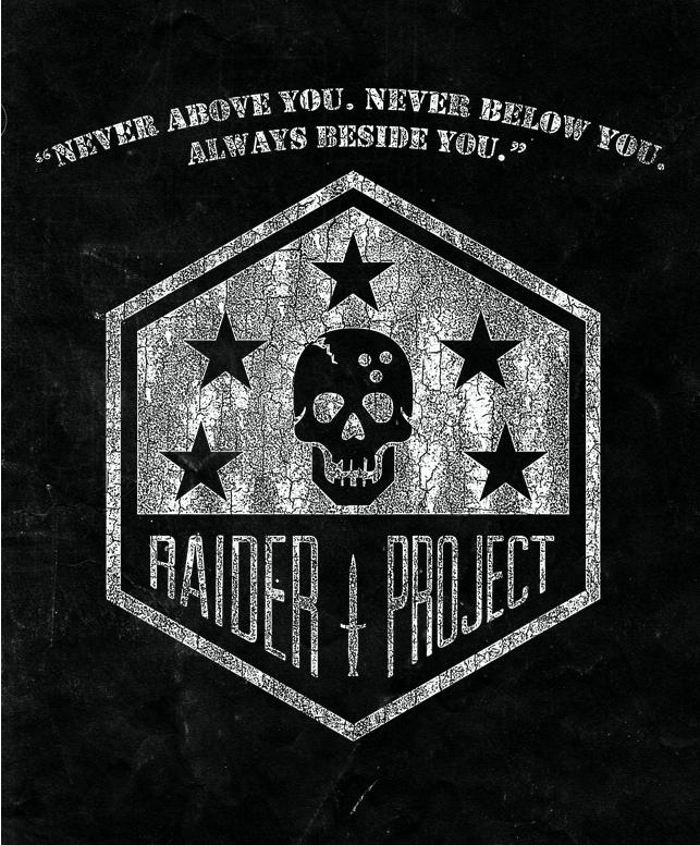 THE RAIDER PROJECT LANYARD