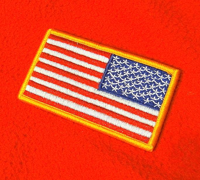 US SHOULDER FLAG PATCH