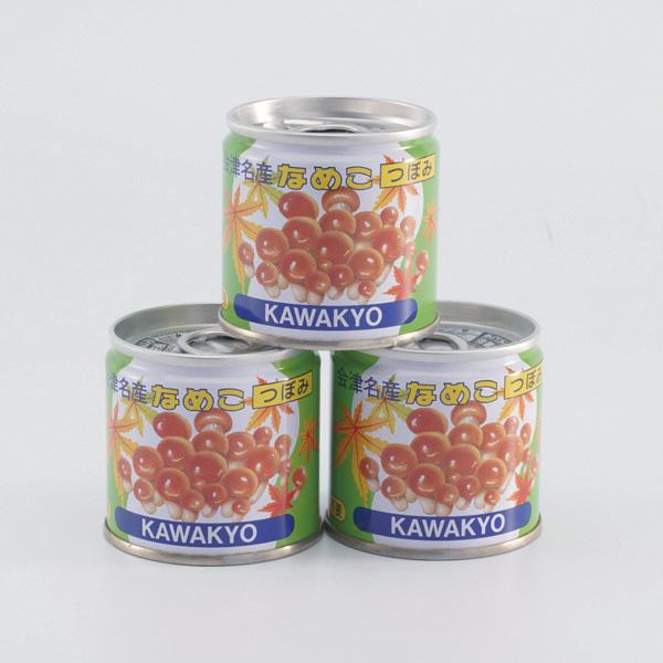 奈良屋のそばセット そば3束・めんつゆ・なめこ3缶