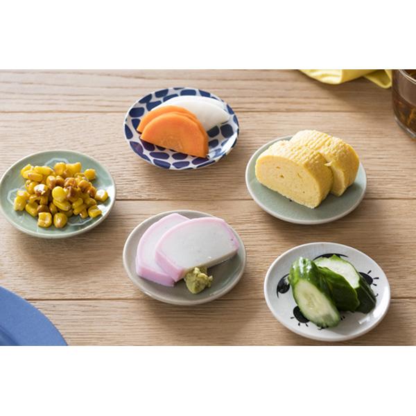 大堀相馬焼 松永窯豆皿 5枚セット