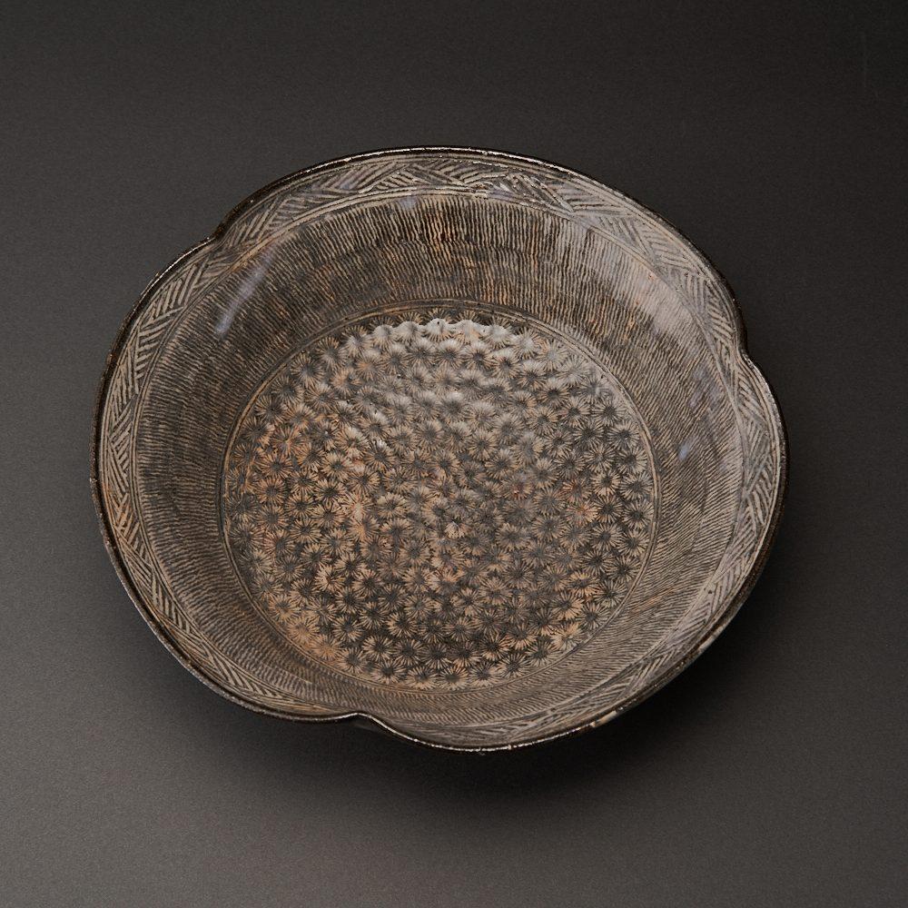 三島鉢(吉野桃李)Mishima Bowl(Tori Yoshino)