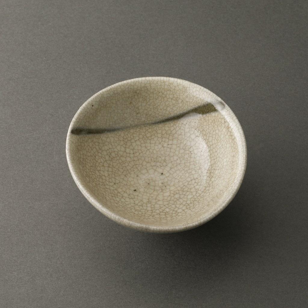 粉引盃(鈴木大弓)Kohiki Sake Cup(Hiroyumi Suzuki)