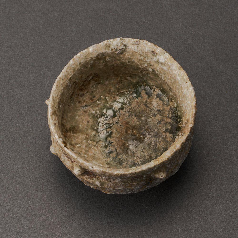 信楽擂座ぐい呑(古谷和也)Shigaraki Sake Cup(Kazuya Furutani)