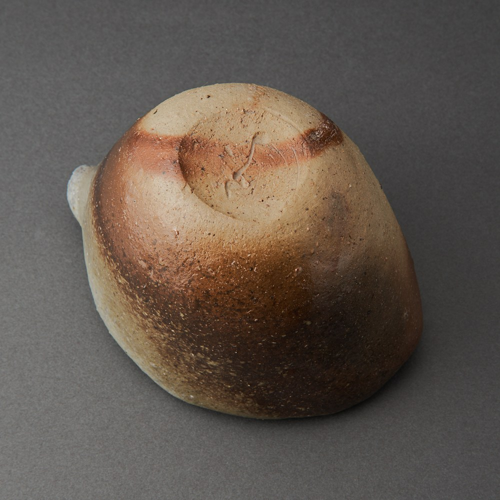 桧山備前片口(後関裕士)Bizen Sake Carafe(Hiroshi Goseki)