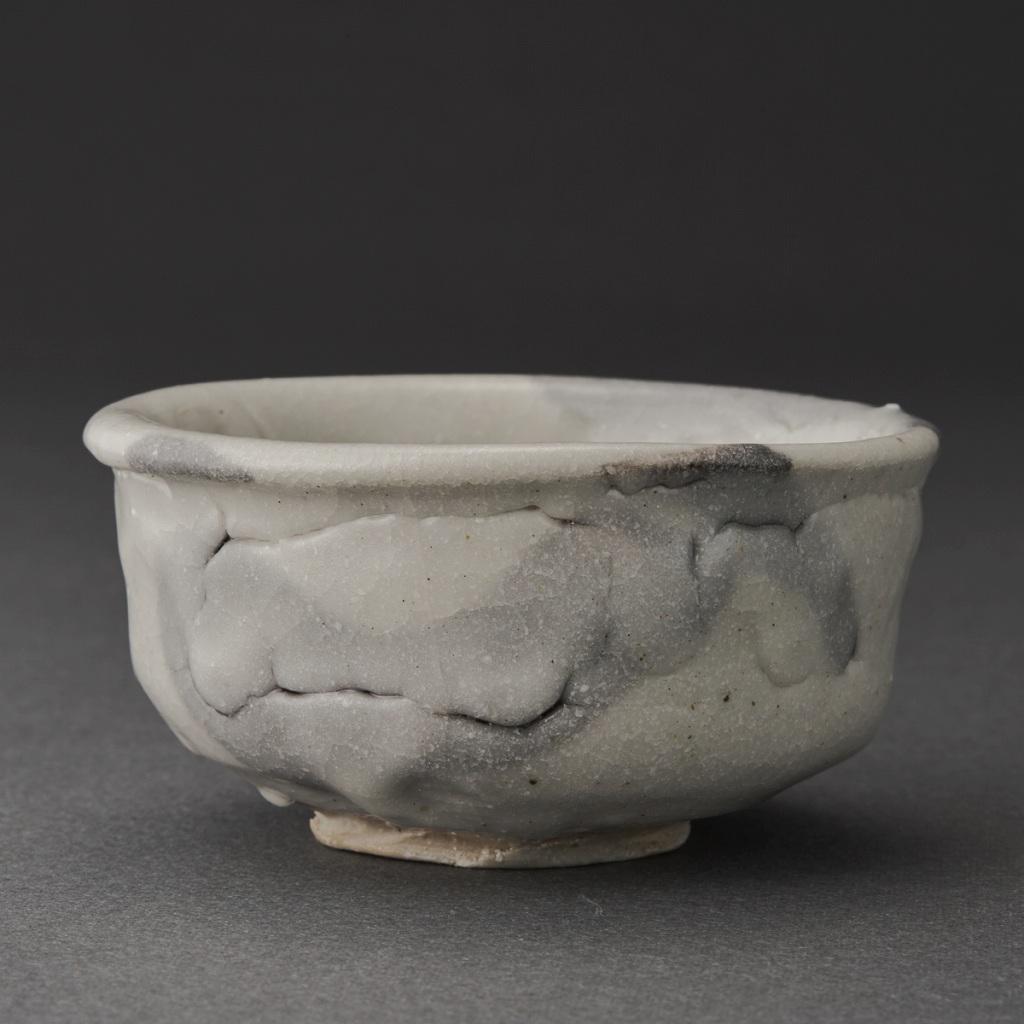 唐津志野盃(梶原靖元)Karatsu Sake Cup(Yasumoto Kajihara)