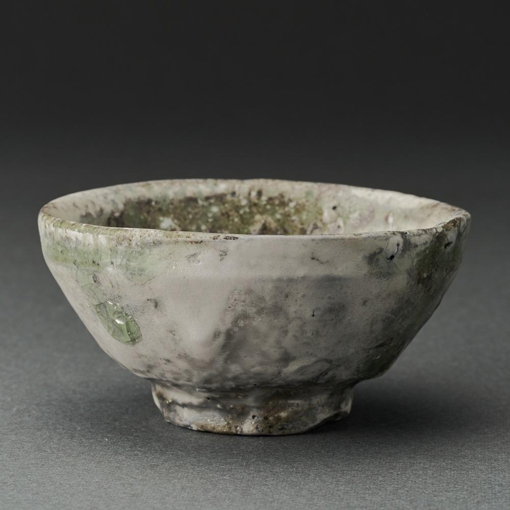 窯変粉吹ぐい呑(辻村唯)Kohiki Sake Cup(Yui Tsujimura)