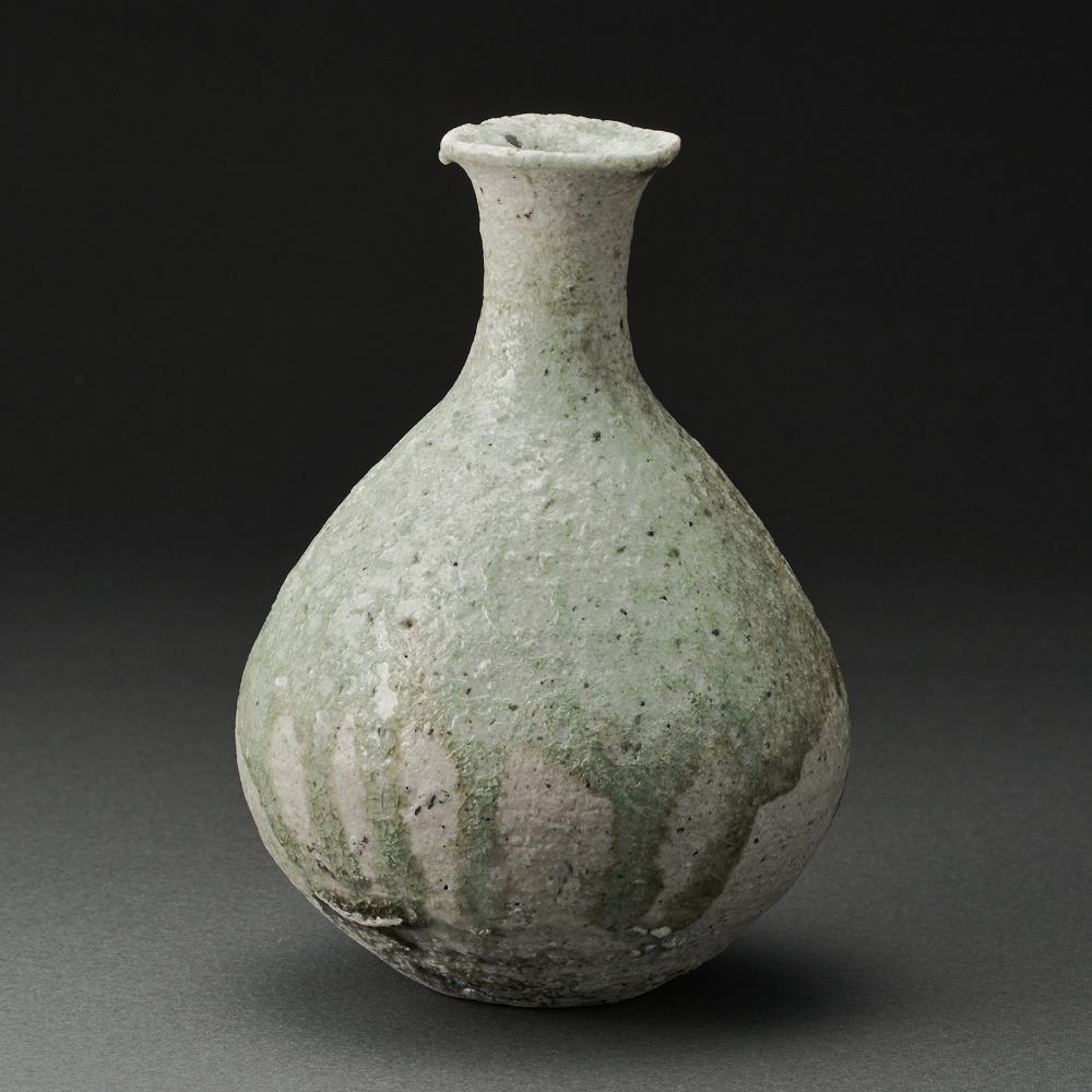 自然釉徳利(辻村唯)Natural Glaze Sake Bottle(Yui Tsujimura)