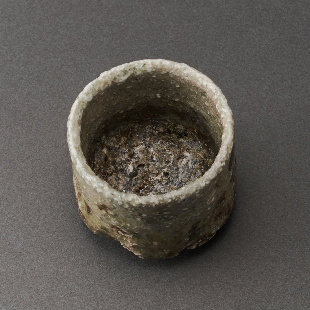 信楽ぐい呑(澤克典)Shigaraki Sake Cup(Katsunori Sawa)