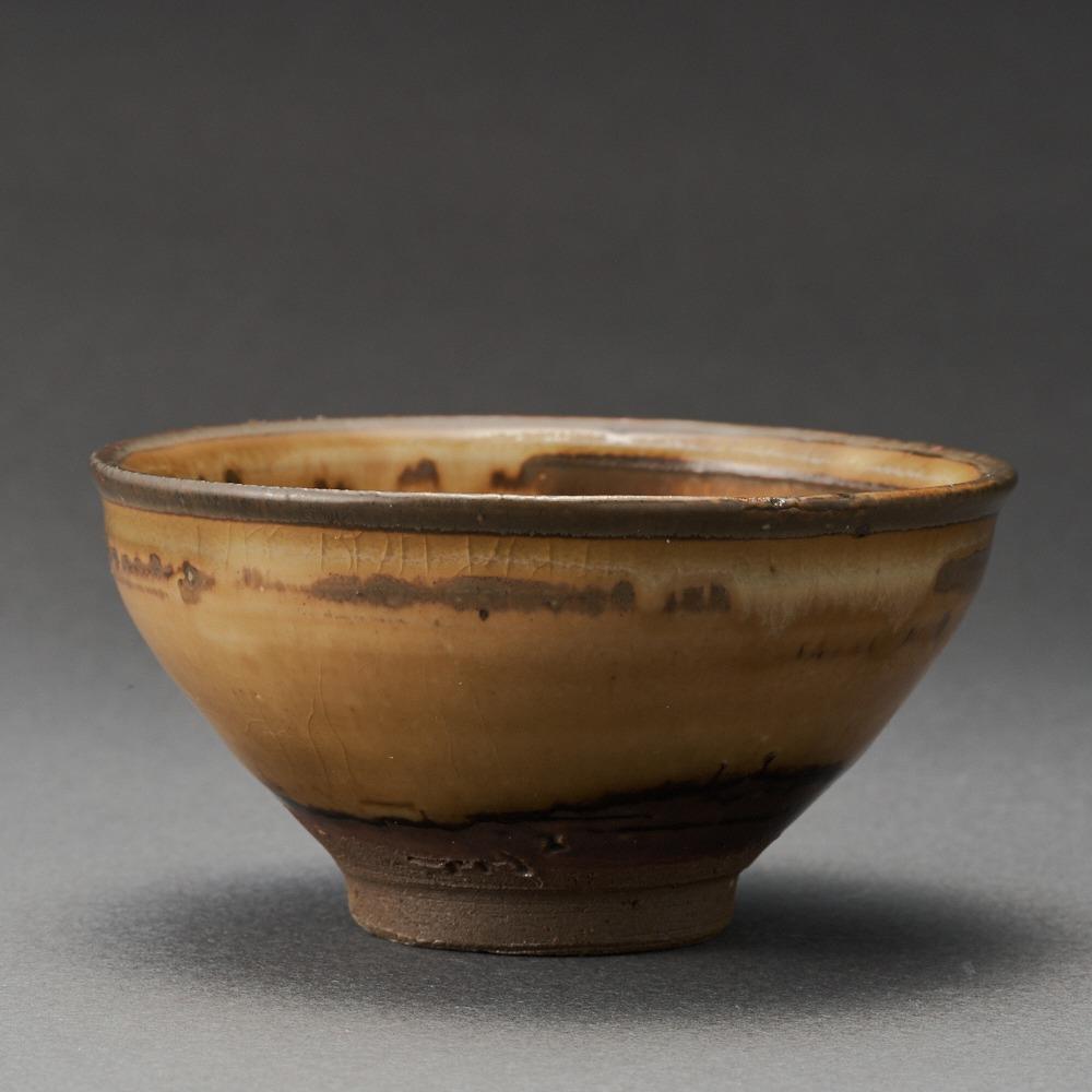 黄天目盃(古谷宣幸)Tenmoku Sake Cup(Noriyuki Furutani)