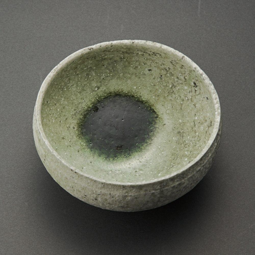 自然釉丸茶碗(辻村唯)Natural Glaze Tea Bowl(Yui Tsujimura)