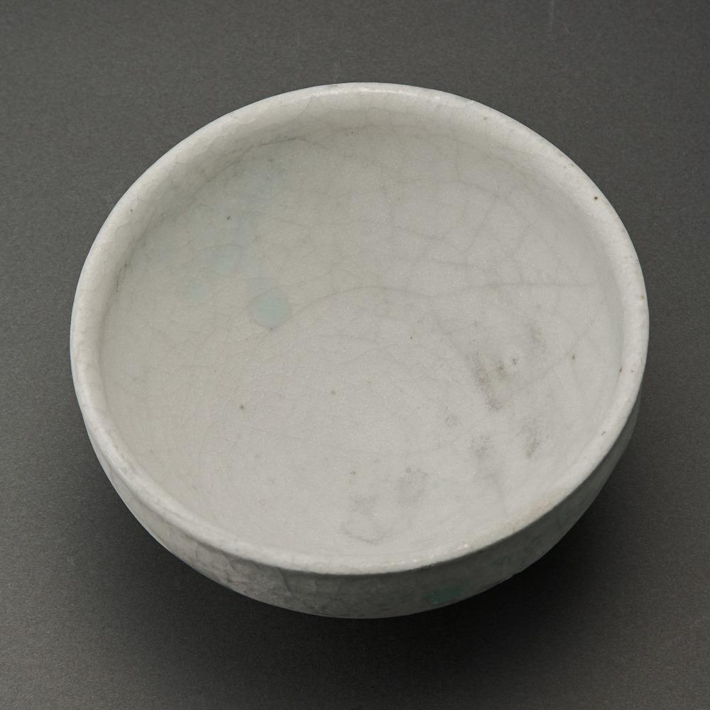 白志野茶碗(辻村唯)Shino Tea Bowl(Yui Tsujimura)