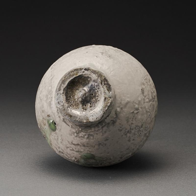窯変粉吹徳利(辻村唯)Kohiki Sake Bottle(Yui Tsujimura)