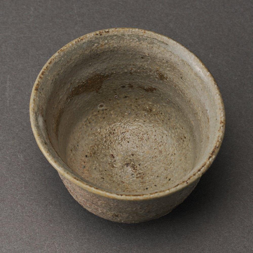 粉引唐津ぐい呑(三藤るい)Karatsu Sake Cup(Rui Mitou)
