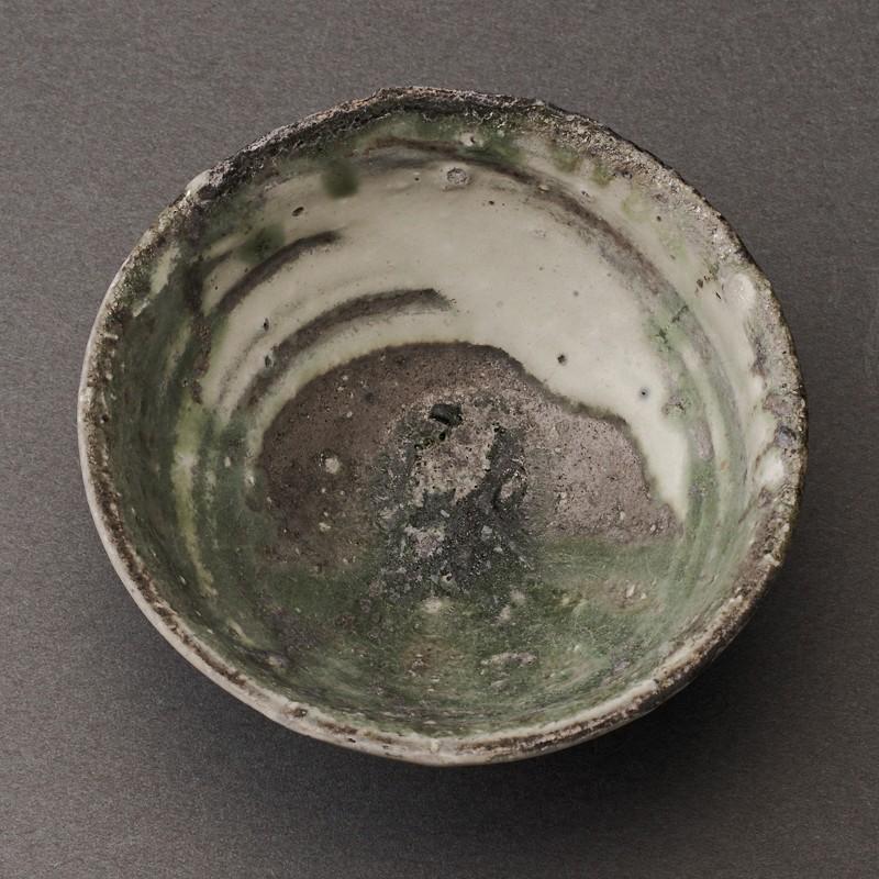 刷毛目ぐい呑(辻村唯)Hakeme Sake Cup(Yui Tsujimura)