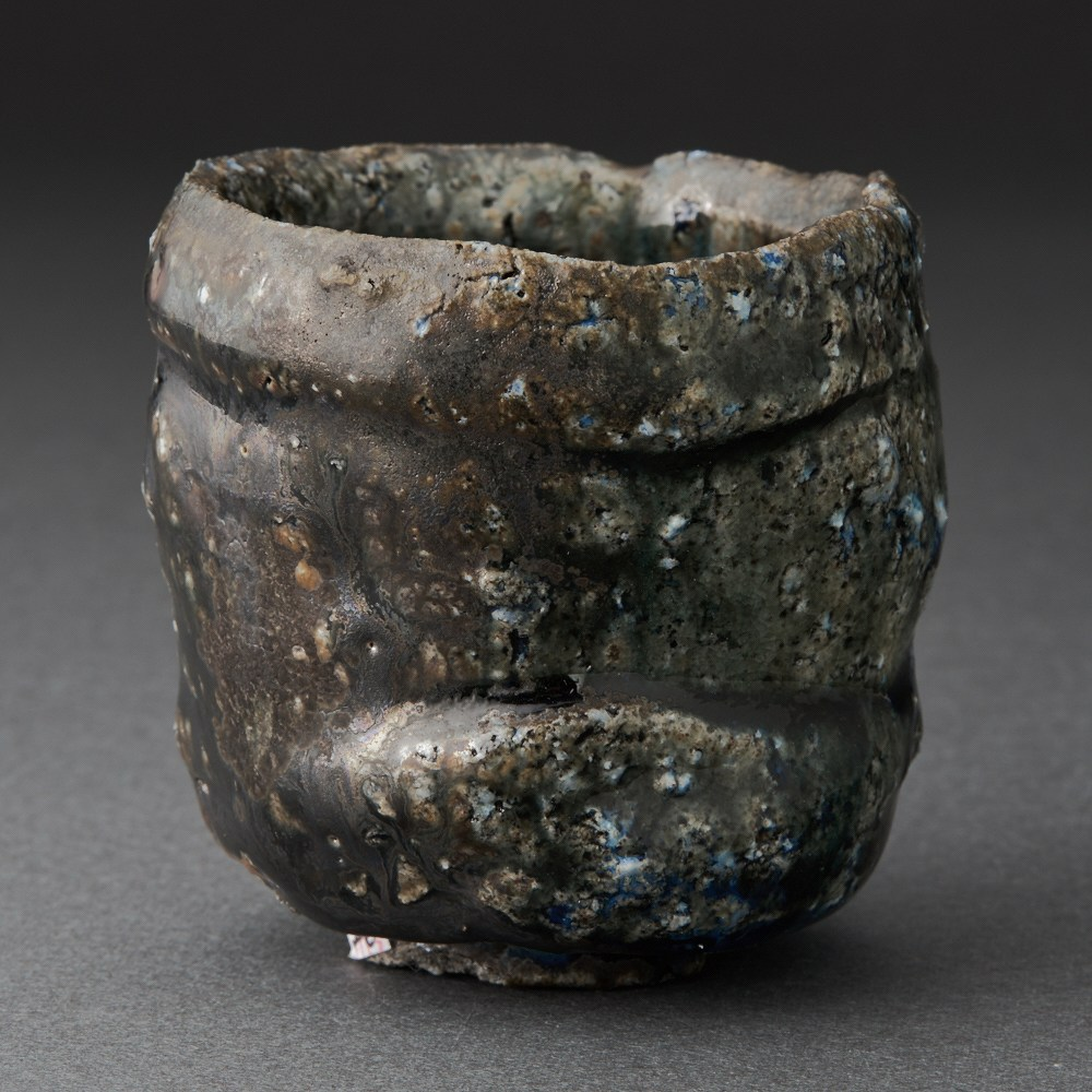 黒丹波酒呑(今西公彦)Black Tanba Sake Cup(Masahiko Imanish)
